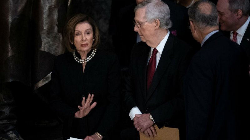 Pelosi's, McConnell's homes vandalized as $2K stimulus check bill fails to pass