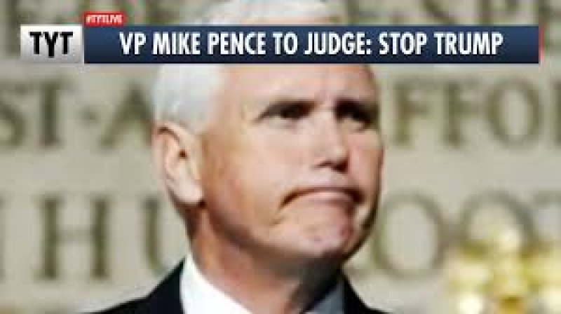 Pence Tells Judge to Kill Trump's Coup Attempt