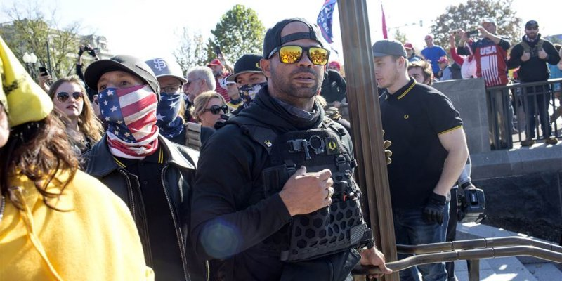 Proud Boys leader arrested, accused of destroying D.C. church's Black Lives Matter sign