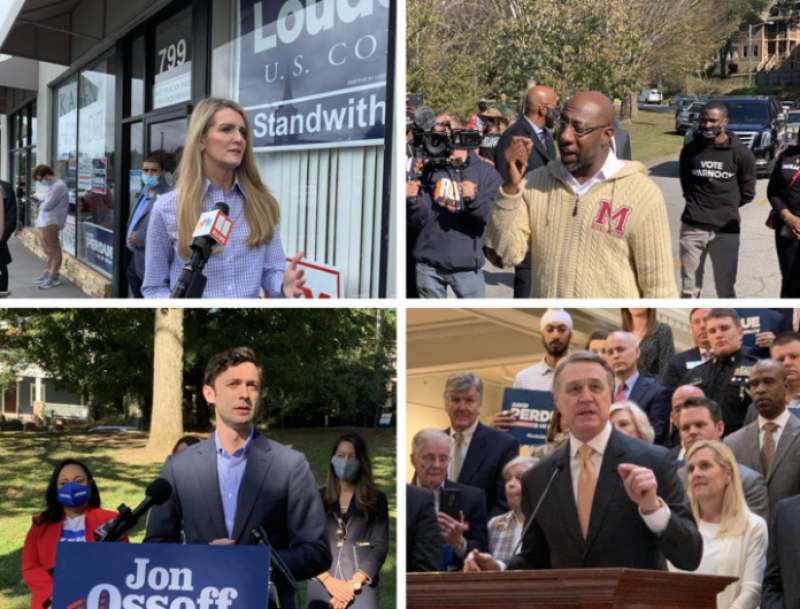 What Are Your Predictions For The Results Of The Georgia US Senate Runoff Election Today ?