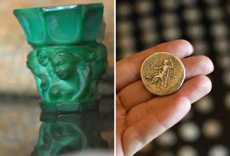 Vast cache of stolen antiquities found in huge raid in central Israel - Archaeology - Haaretz.com