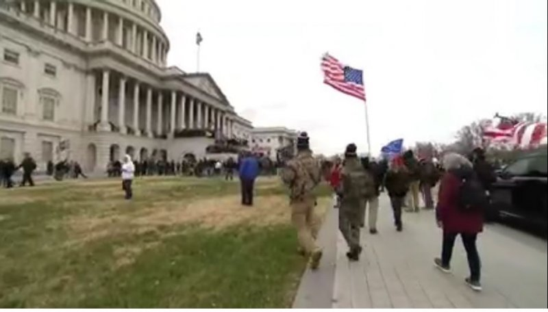 D.C. pro-Trump protests: Hundreds storm Capitol barricades; two nearby buildings briefly evacuated - The Washington Post