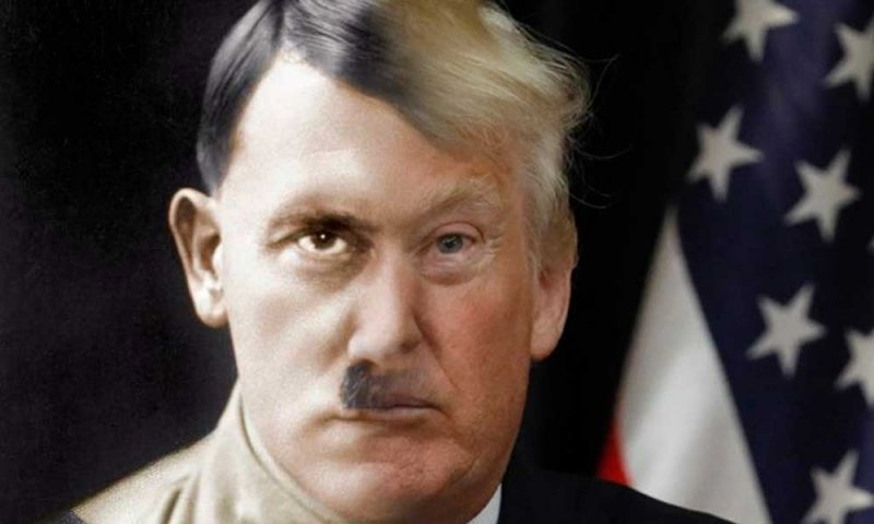 Trump Is Not A Hitler, But He Showed Some Troubling Similarities Yesterday (Yes, we are going there)