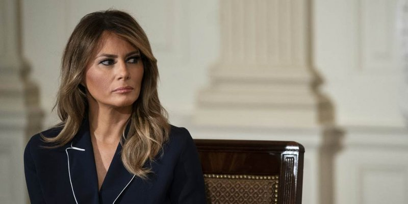 Melania Trump makes first comments about attack on the Capitol