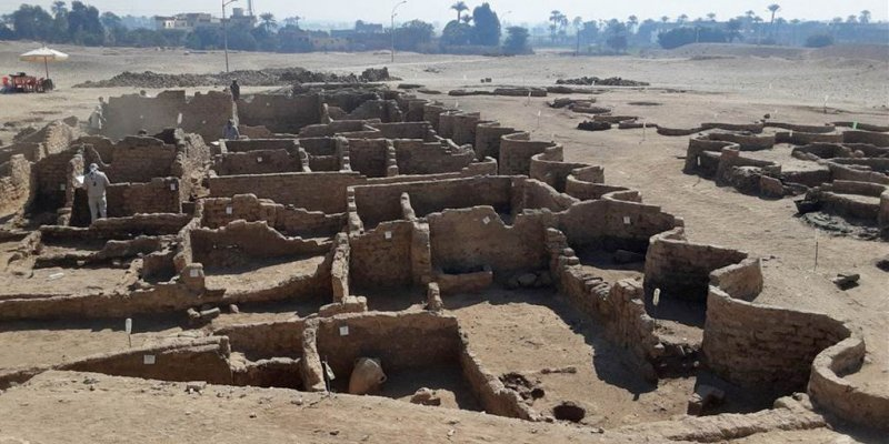 Inside Egypt's 3,000-year-old 'lost golden city'