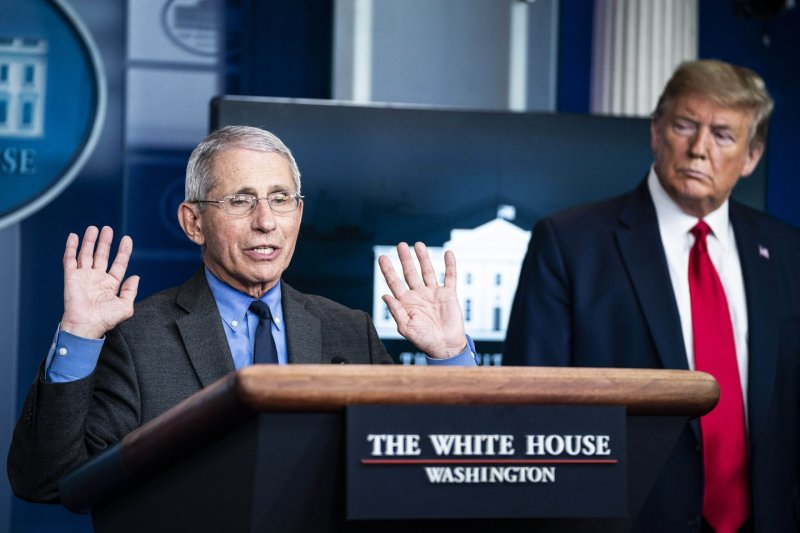 Trump said Anthony Fauci is 'full of crap' in an expletive-laden speech to Republican donors