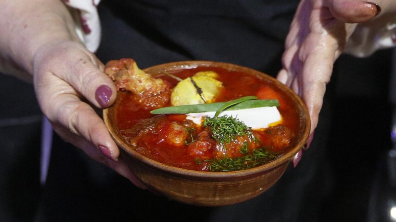 What's really bugging Russia and Ukraine? Soup!