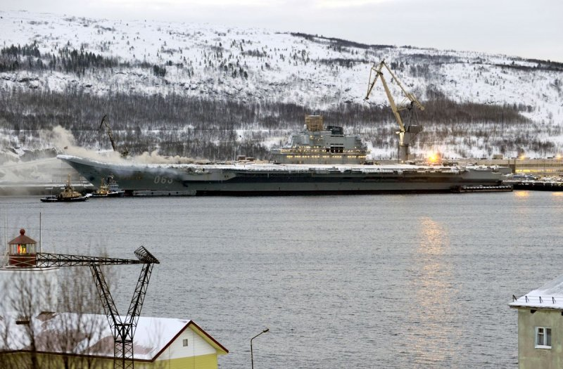 Russia's Cursed Carrier Is Coming Back to Sea. Maybe.