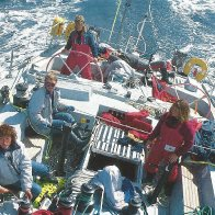 With An All-Female Crew, 'Maiden' Sailed Around The World And Into History