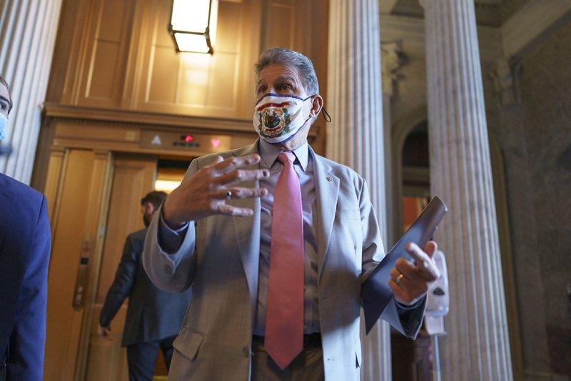 Manchin, Capito praise Republicans' infrastructure plan