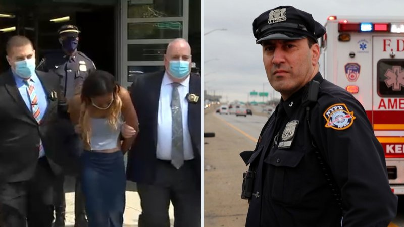 Suspect charged in NYPD officer's death in Queens admits drinking, knew she hit 'something' - ABC7 New York