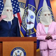 Dems: 'If America Isn't Racist, How Do You Explain These White Hoods We're Wearing?'