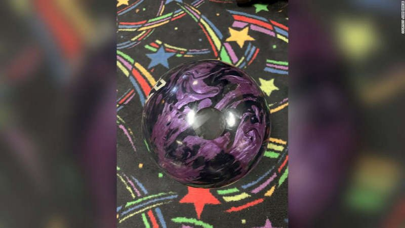 Man bowls perfect game with his father's ashes inside the ball