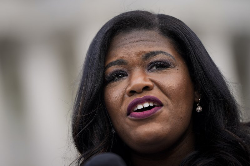 'Squad' Rep. Cori Bush Calls America 'Racist AF' After She Backs Defunding St. Louis Police
