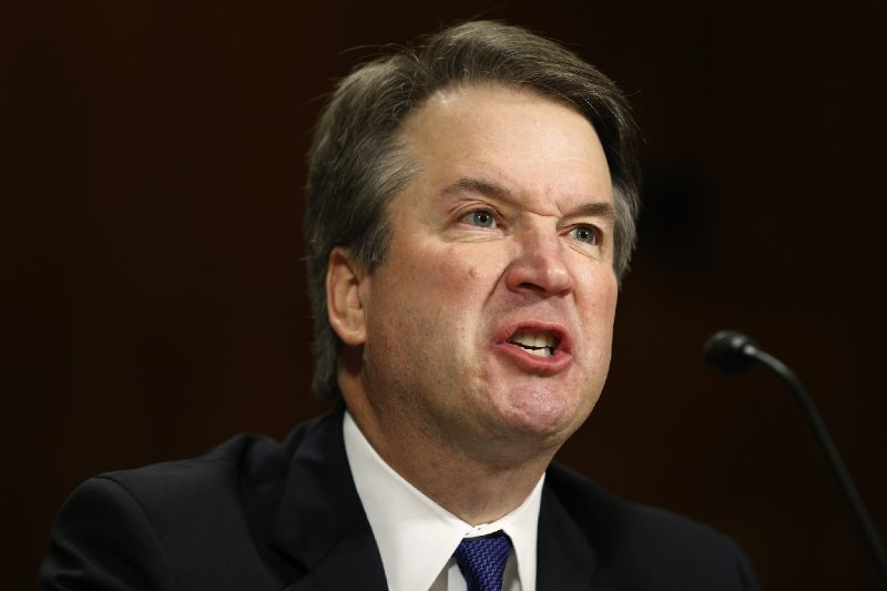 Justice Brett Kavanaugh wrote a sexually explicit memo 'in a fog of sleep deprivation' during the Starr investigation
