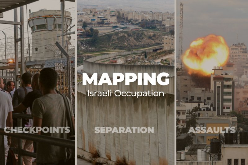 Mapping Israeli occupation