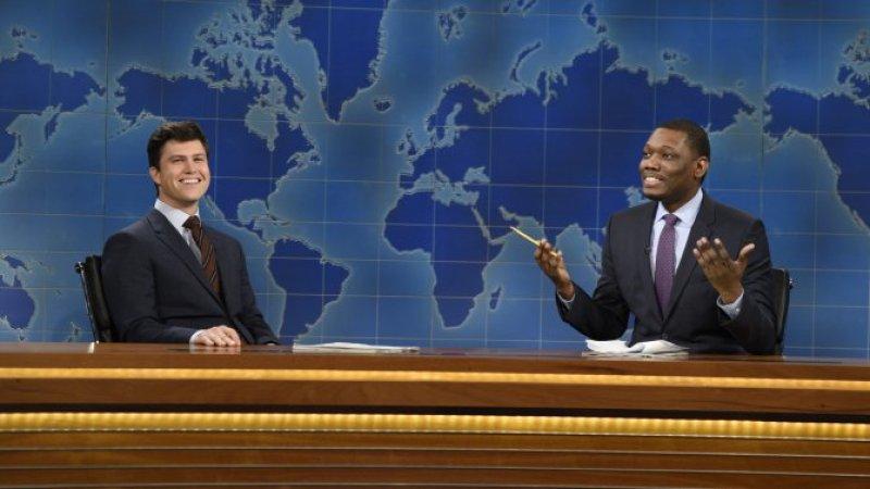 Weekend Update: Colin Jost and Michael Che Swap Jokes for Season 46 Finale - SNL (!)