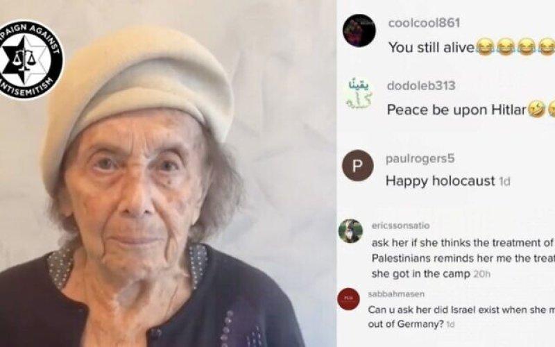 Holocaust survivor wishes TikTok Shabbat Shalom, gets hit with antisemitic hate