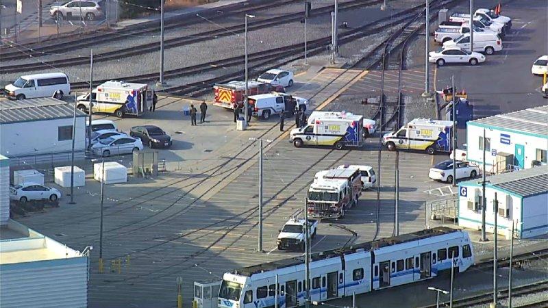 Employees among 'multiple casualties' in shooting at San Jose rail yard, sheriff says
