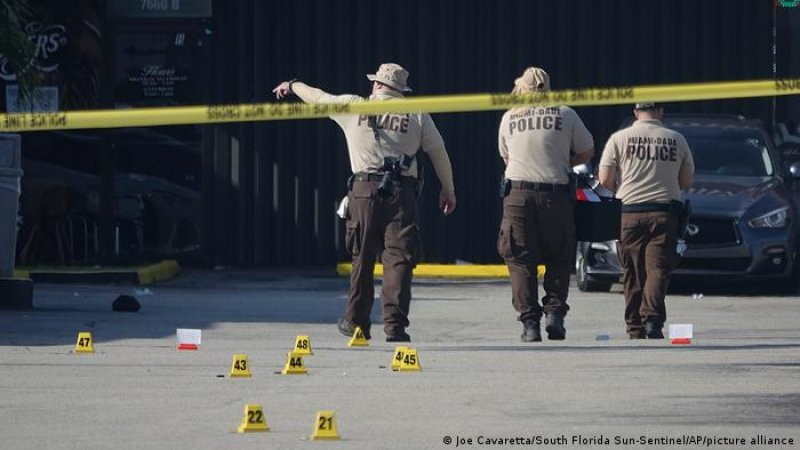 At least 22 people shot, 2 fatally, after assailants get out of an SUV and fire assault rifles
