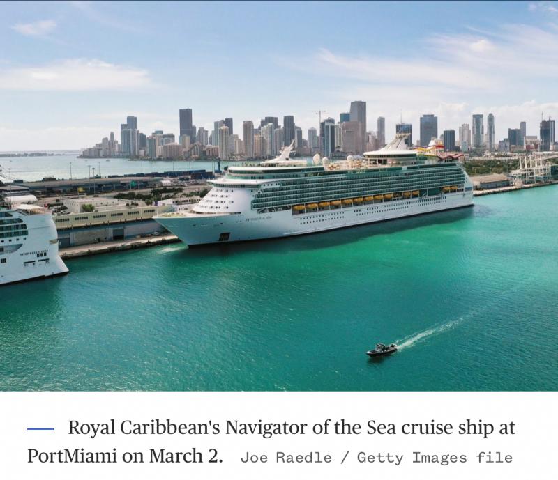 Cruise lines and Florida Gov. DeSantis square off over vaccine passports