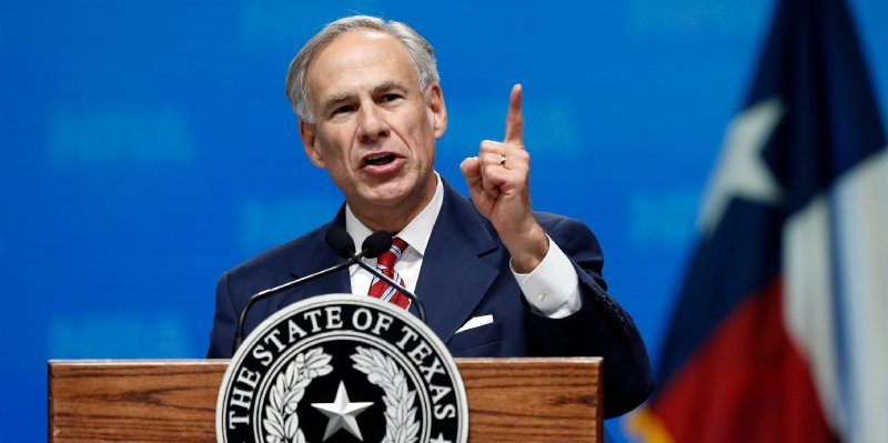 The Texas governor said he plans to strip the Legislature's pay after Democrats staged a walkout to prevent restrictive voting laws from passing