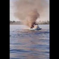 Boat explodes in viral video after boaters allegedly harassed vessel flying pride flags | TheHill