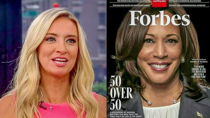 Mean Girls Tomi And Kayleigh Moan About VP Harris' Forbes Cover