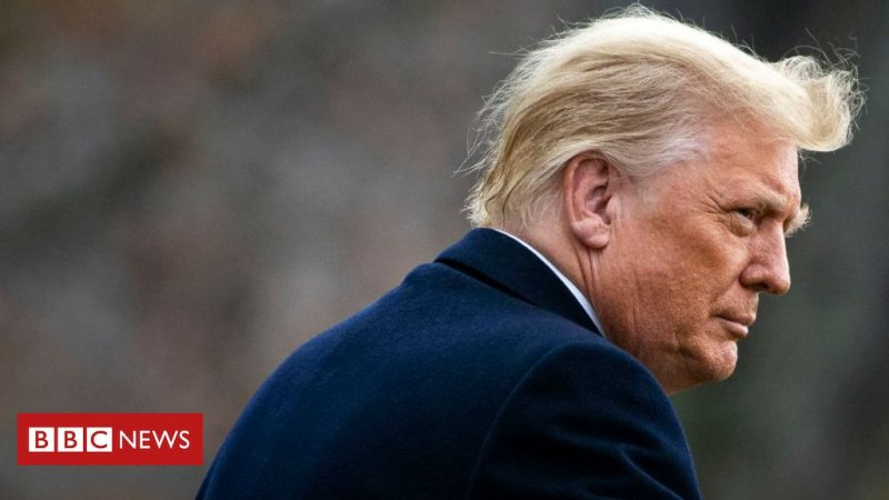 Donald Trump's 'communications' platform permanently taken offline - BBC News