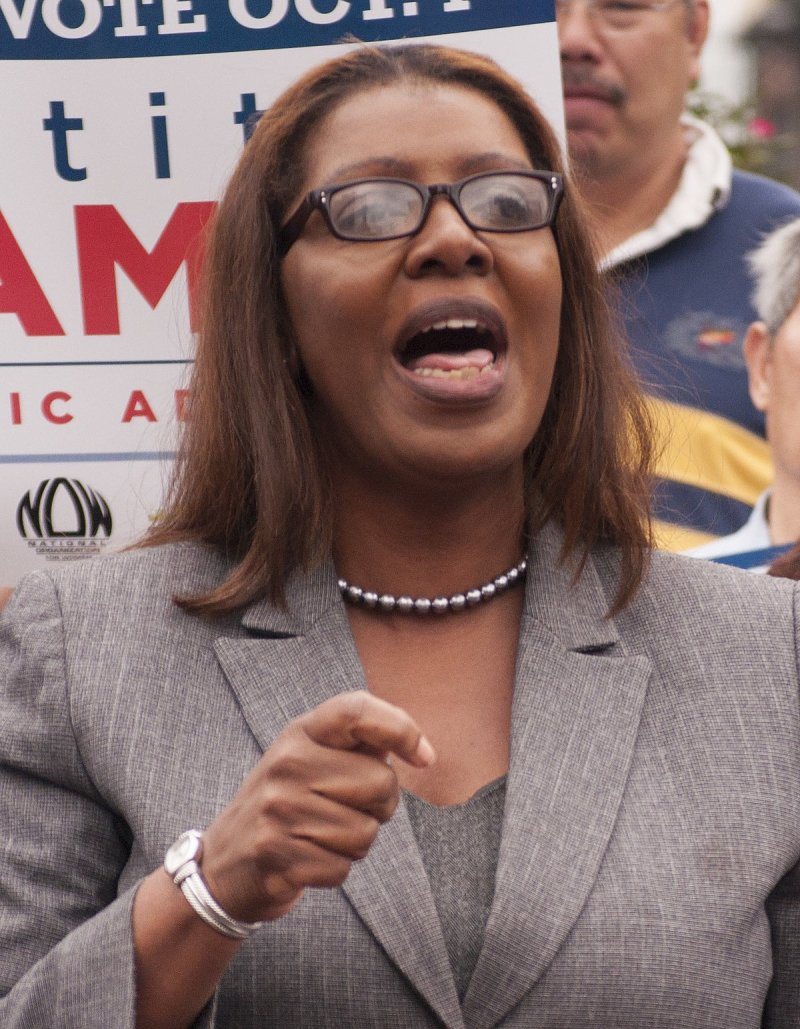 Letitia James, New York AG, taints case with well-documented anti-Trump bias