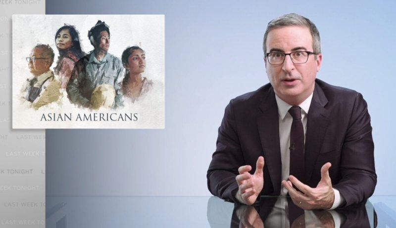 John Oliver Decries U.S. for 'Racist' Treatment of Chinese Titanic Survivors, Slams 'Model Minority Myth' as 'Tool of White Supremacy'