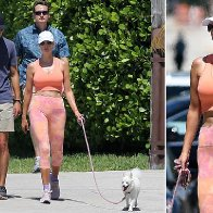 Ivanka Trump shows off her toned figure in workout clothes