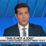 Jesse Watters Mocks Biden and Suggests Climate Change Hasn't Killed Anyone, Despite Evidence to the Contrary
