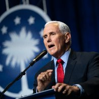 Mike Pence heckled as 'traitor' at Faith & Freedom conference