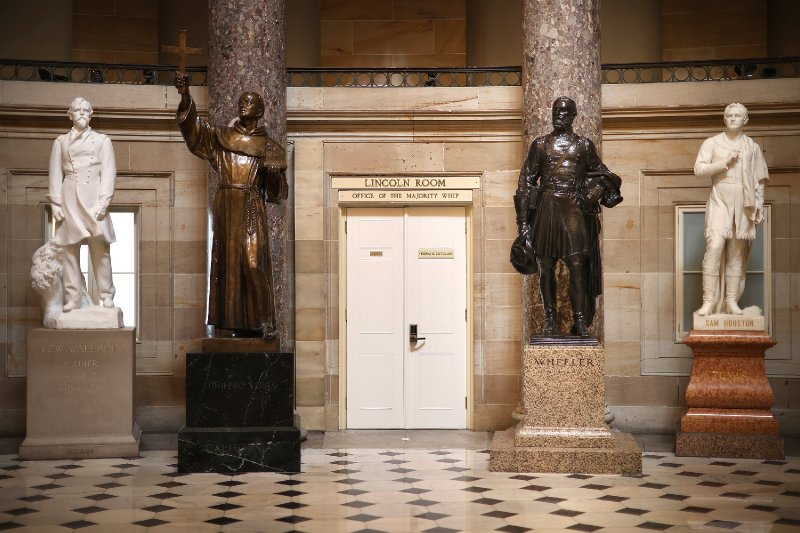 House to vote to remove Confederate statues from the Capitol