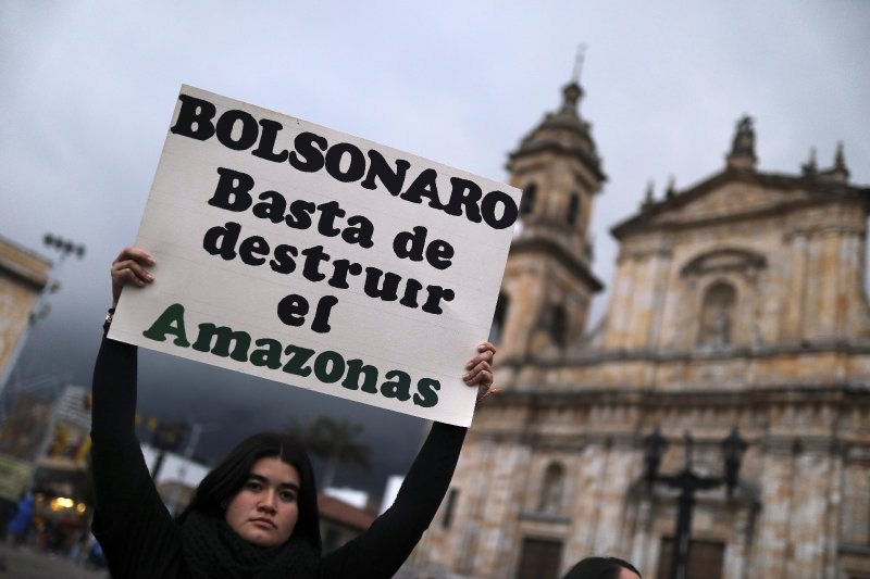 Brazil issues fire ban, redeploys military to fight Amazon blazes