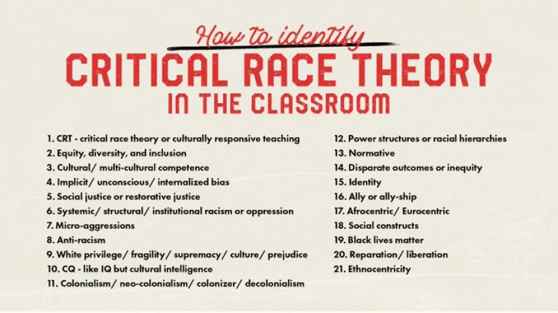 How To Identify Critical Race Theory In The Classroom