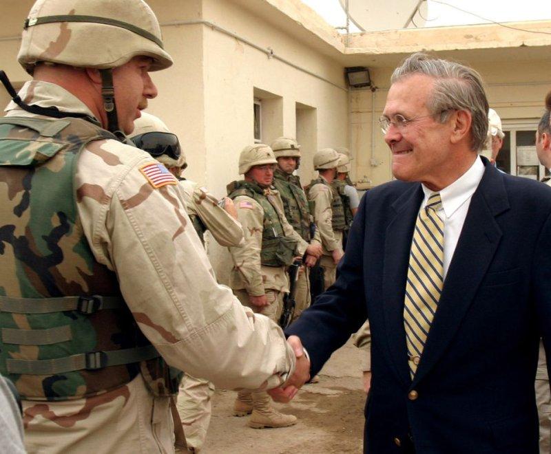 Former U.S. Defense Secretary Donald Rumsfeld dead at 88
