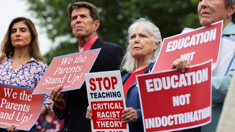 Poll: The real reason Republicans are so riled up about 'critical race theory'