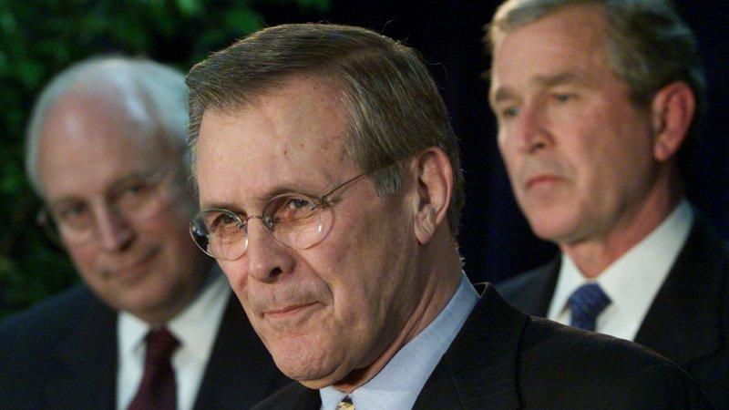 Donald Rumsfeld, Defense Secretary During Iraq War, Is Dead at 88 - The New York Times