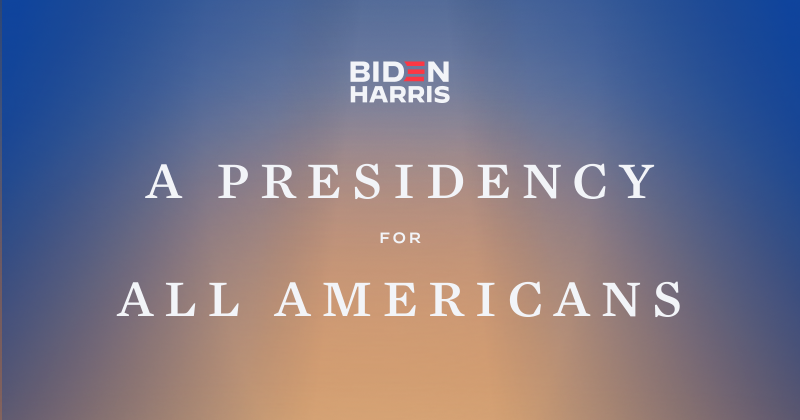 A Presidency for All Americans | Joe Biden for President: Official Campaign Website