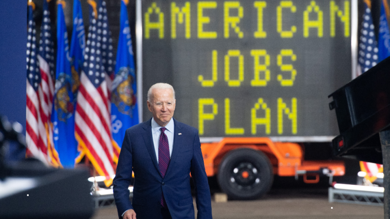 Biden's infrastructure balancing act could topple Democrats in the midterms