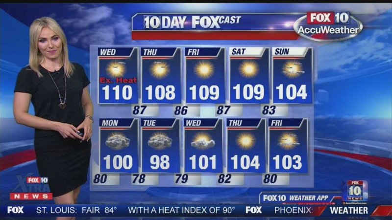 What the programming list for Fox's new weather channel will look like
