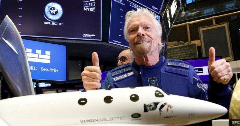 Richard Branson heading for space as billionaires battle for profits on the high frontier - CBS News