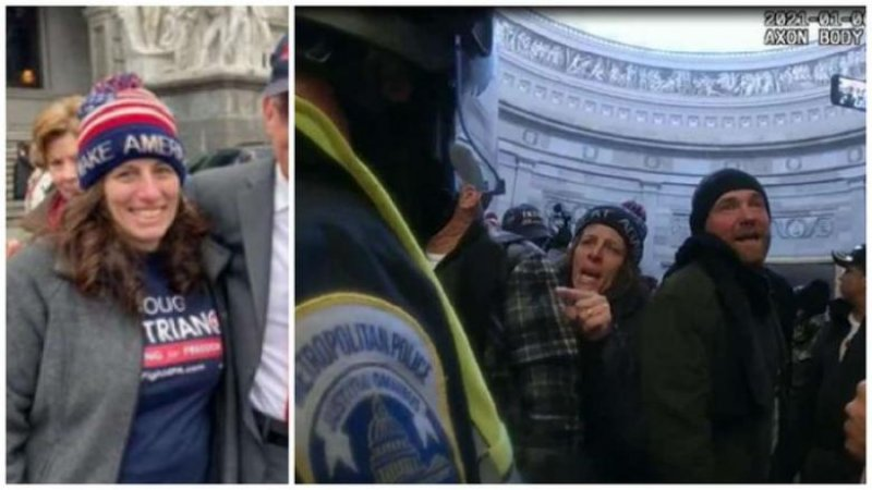 Capitol Rioter Claims She's A Divine Being, Above The Law