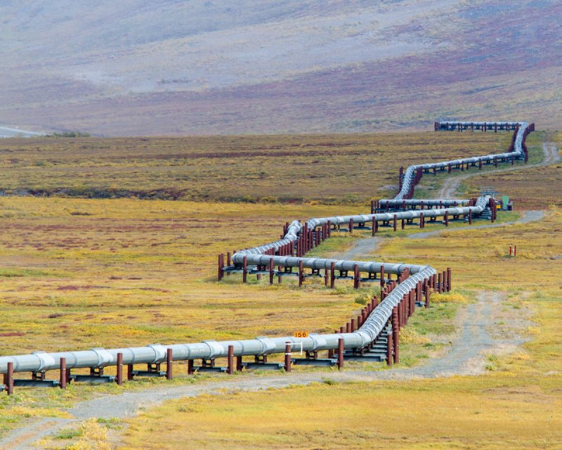 Ongoing threat: Thawing permafrost has damaged Trans-Alaska pipeline