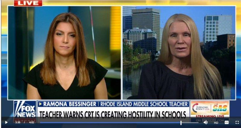 Teacher says critical race theory 'radicalized' her curriculum and creates 'racial hostility'