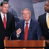 Lindsay Graham wants GOP to leave DC in last-ditch gambit to block Democrats' $3.5 trillion spending package. Some are open to it.