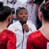 """Incredibly, the greatest woman's gymnast in history said """"no mas"""" at Tokyo Olympics."""
