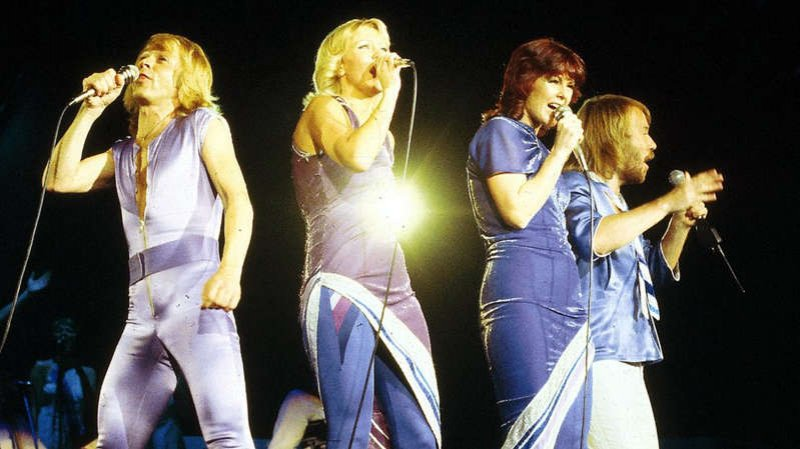 Abba return to UK top 10 with new song